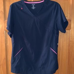 Navy Blue Scrubs Set
